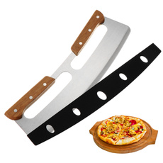 pizzacutter, pizzacuttercover, pizzasteel, Wooden