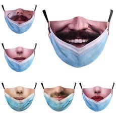 Funny, dustproofmask, mouthmask, facemaskcover