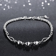 infinity bracelet, Heart, Love, Jewelry