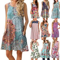 Sleeveless dress, Fashion, Elastic, Summer