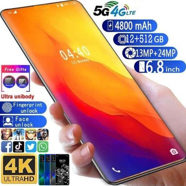 fullscreen, Smartphones, Mobile Phones, fingerprintunlock