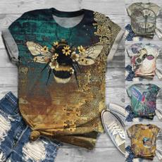 Summer, Fashion, short sleeves, funnyshirt