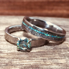 Couple Rings, ladysring, wedding ring, Sterling Silver Ring