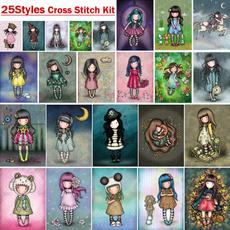 crossstitch, crossstitchnature, Canvas, embroiderycrossstitchkit