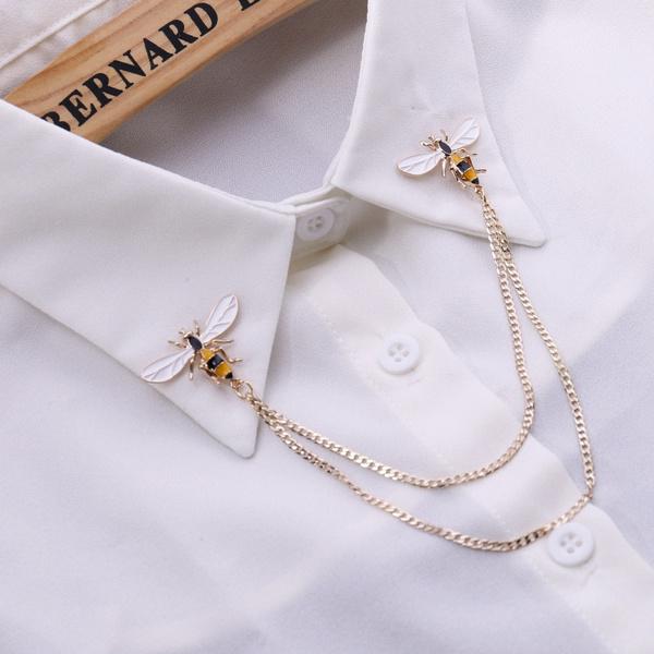 Fashion, Pins, Women's Fashion, chainbroochpin