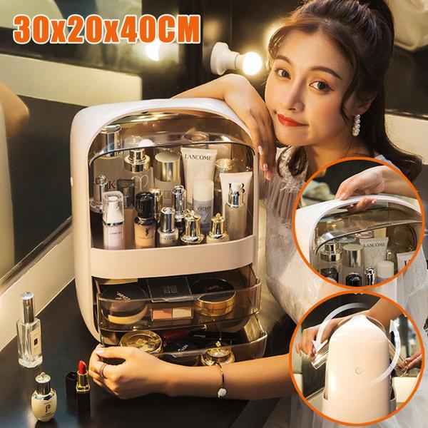 beautystorageorganizerbox, Box, portablemakeupbox, Fashion
