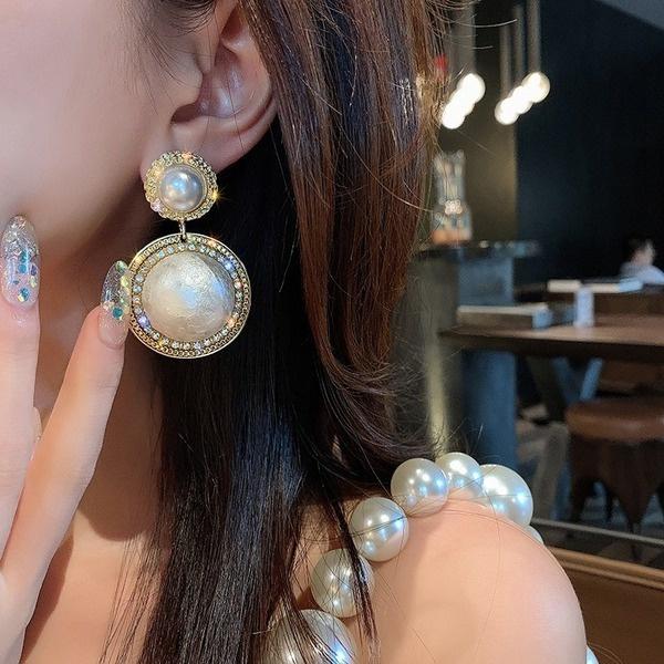 fashionsimpleearring, exaggeratedearring, Fashion, Dangle Earring