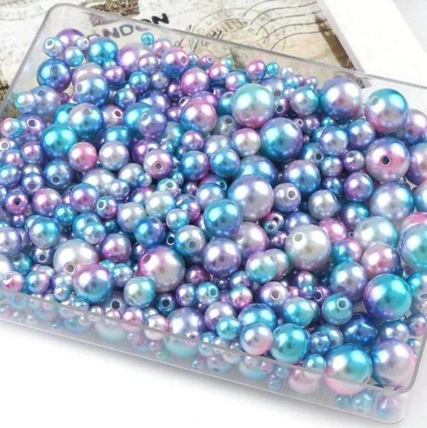 beadsforjewelrymaking, rainbow, acrylicbead, Jewelry