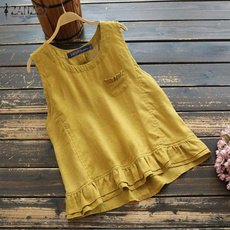 blouse, Summer, Cotton, Fashion
