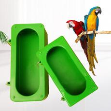 Box, Shower, feedingsplashproofcup, parrotfoodwaterbowl