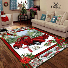 Home & Kitchen, Christmas, Mats, snowy