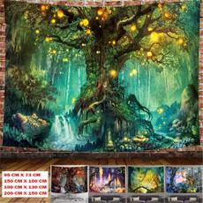 treetapestry, foresttapestry, Wall Art, Tree