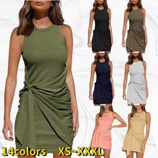 Sleeveless dress, Fashion Accessory, Fashion, high waist