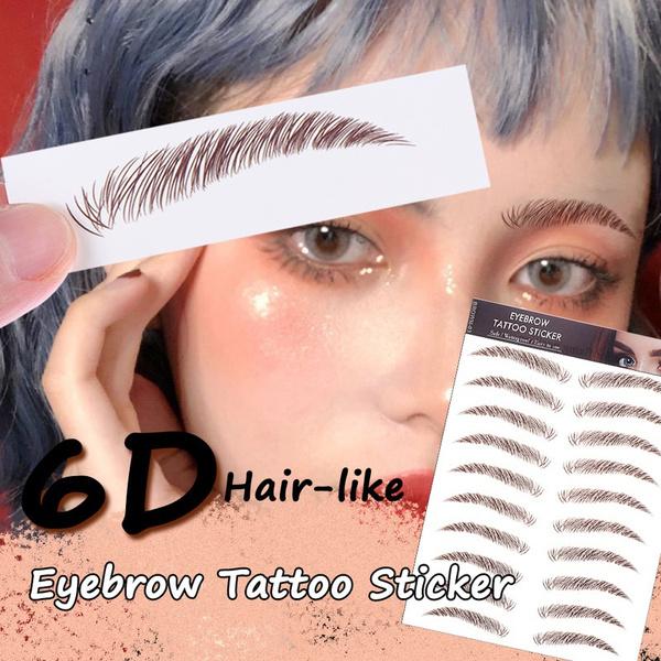 tattoo, Beauty, artificialeyebrowpatch, 6deyebrowsticker