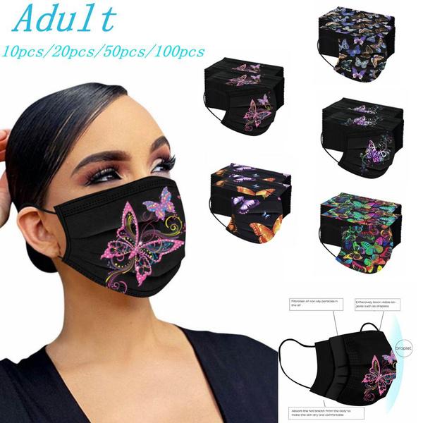 womenmask, earloop, disposablefacemask, Masque