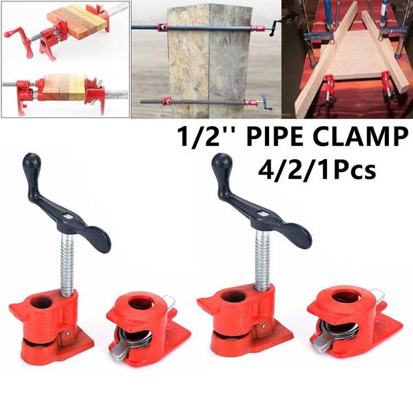 Heavy, woodworkingfixture, Iron, pipeclamp