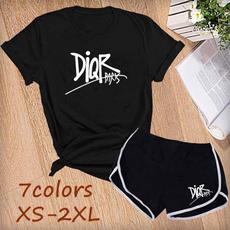 Fashion, Cotton T Shirt, summer shorts, womens top