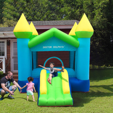 Outdoor, inflatablebouncy, jumpingcastle, house