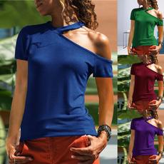 Summer, summer t-shirts, Sleeve, women top