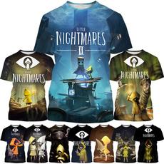 trendcasua, Video Games, Fashion, littlenightmaresprintedtshirt