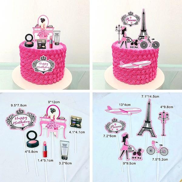 decoration, birthdaycake, Baking, Lipstick
