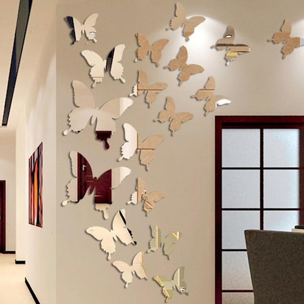 butterfly, butterflywallsticker, childrensroomdecoration, wallartsticker