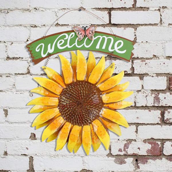 Outdoor, art, Door, welcomesign