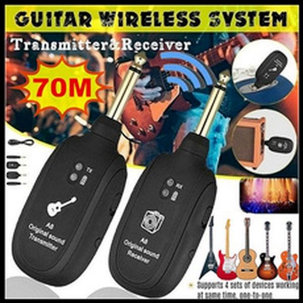 electricguitarwirelesspickup, Electric, Bass, wirelesstransmitter