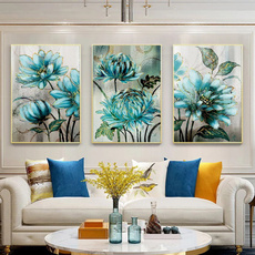 Blues, Pictures, Woman, Wall Art