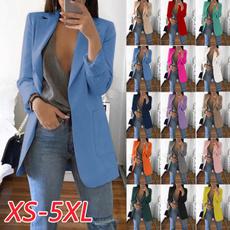 Plus Size, cardigan, Blazer, Sleeve