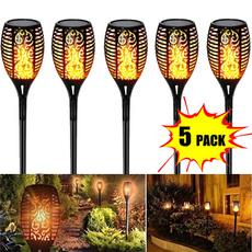 solartorchlight, Outdoor, solarflamelamp, Garden