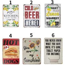 tinsignposter, metalsignvintage, Coffee, Vintage