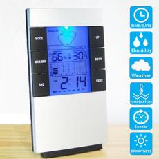 hygrometerclock, humidityclock, led, thermometerclock