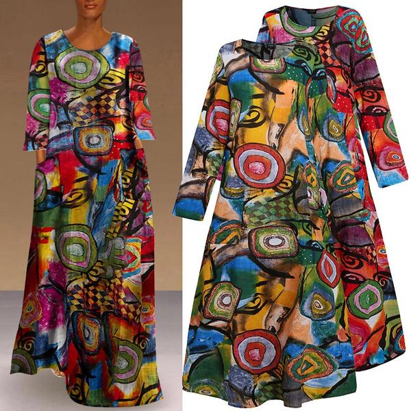 Women, dressesforwomen, Floral print, floralprintdres