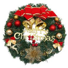 autolisted, Door, Christmas, Garland