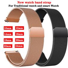 Steel, 10mmwatchstrap, watchaccessorie, 18mmwatchstrap