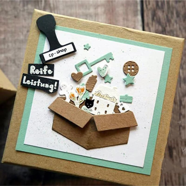Box, stencil, embossingfolder, embossingfolderdie