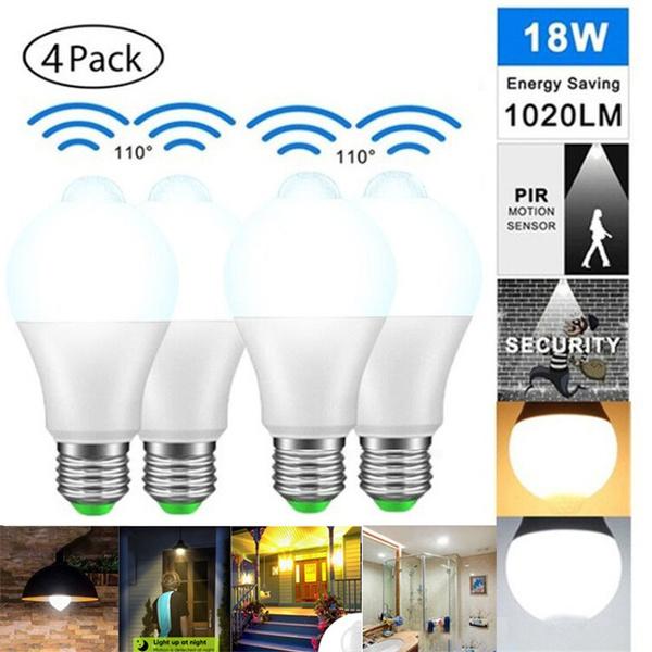 Light Bulb, securitylight, led, Home & Living
