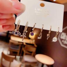 devils, women's earrings, Jewelry, Pearl Earrings