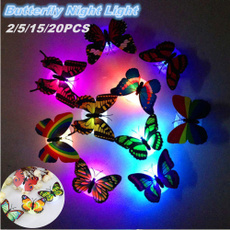 butterfly, Home & Kitchen, Decor, led