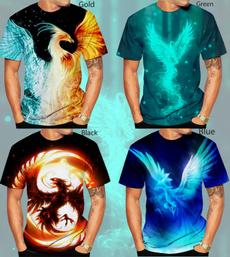 Mens T Shirt, Fashion, Phoenix, Summer