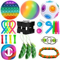 kids, Toy, fidgettoy, pushpopbubble