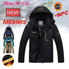 Casual Jackets, waterproofjacket, velvet, Winter