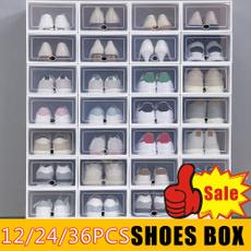 Box, Plastic, Cabinets, shoeshlef