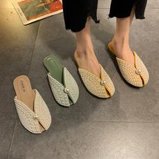 Summer, DIAMOND, Womens Shoes, flat shoe