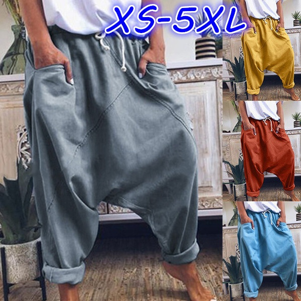 Women Pants, harem, Plus Size, hosendamen