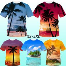 Tee Shirt, Shorts, Shirt, Hawaiian