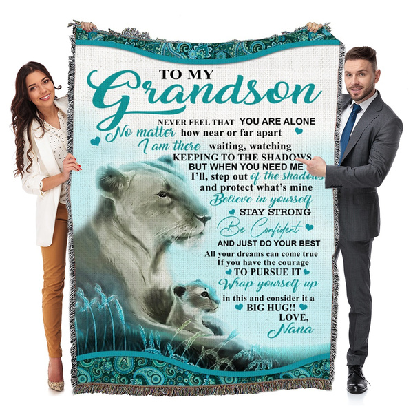 Gifts, grandson, nana, Blanket