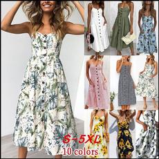 Summer, Plus Size, dressesforwomencasualsummer, long dress
