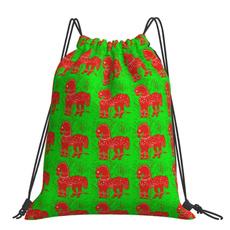 christmasponybackpack, outdoorshoulderbag, sackpack, Backpacks